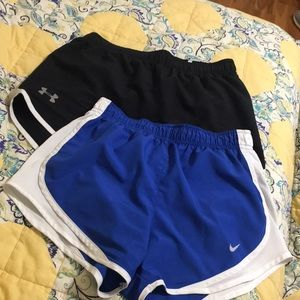 Set of 2 Athletic Shorts